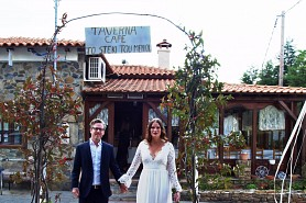 the fairytale wedding of Janna & Olli in Parthenonas! - Halkidiki Special Events