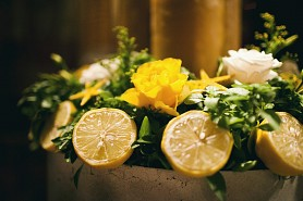 A lemon themed wedding - Halkidiki Special Events